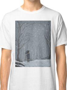 Snowy Walk Classic T-Shirt