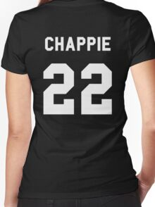 Chappie- Scout 22. Women's Fitted V-Neck T-Shirt