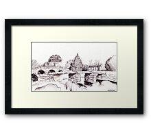 Postbridge Dartmoor Framed Print