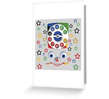 Toys Dial Phone Greeting Card