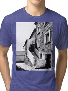 Agropoli: view old building Tri-blend T-Shirt