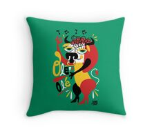 Toro loco - Crazy bull spanish ole ole Throw Pillow