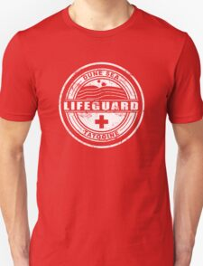 Dune Sea Lifeguard [White Distressed] T-Shirt