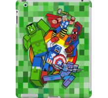 Cute Cube superheroes Group iPad Case/Skin