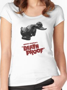 Death Proof - Duck Women's Fitted Scoop T-Shirt