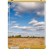 rural landscape in Poland iPad Case/Skin