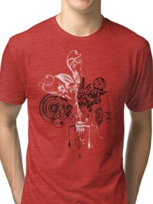 face within your face series 001 Tri-blend T-Shirt