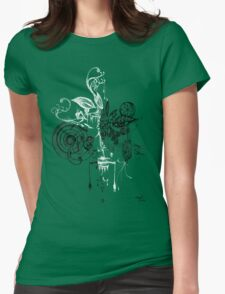 face within your face series 001 Womens Fitted T-Shirt