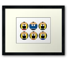 pencil collection Framed Print