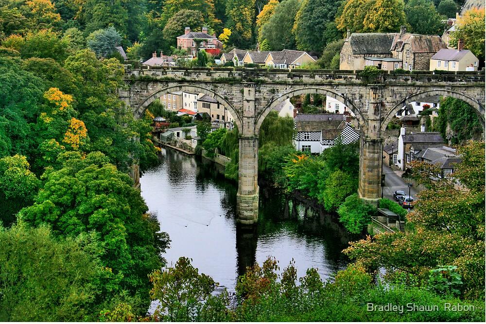 """Bridge over the River Nidd"" by Bradley Shawn  Rabon"