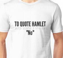Hamlet. Unisex T-Shirt