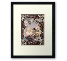Allegory of Planets & Continents  Framed Print