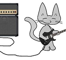 "Rock ""n"" Roll Kitty  by JohnsCatzz"