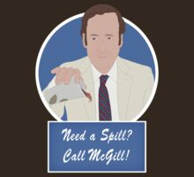 Need a Spill? Call McGill! by Théo Proupain