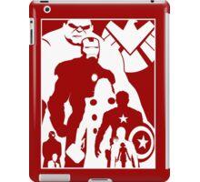 Assemble and Avenge iPad Case/Skin