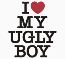 Die Antwoord - I Love My Ugly Boy (black) by craigistkrieg