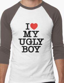 Die Antwoord - I Love My Ugly Boy (black) Men's Baseball ¾ T-Shirt