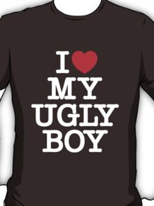 Die Antwoord - I Love My Ugly Boy (white) T-Shirt