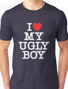 Die Antwoord - I Love My Ugly Boy (white) Unisex T-Shirt