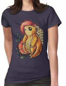 Sandshrew Womens Fitted T-Shirt