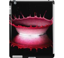 Red bowl iPad Case/Skin