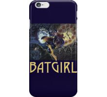 Gothic Batgirl iPhone Case/Skin