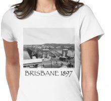 Victoria Bridge Brisbane 1897 Womens Fitted T-Shirt