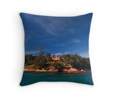 Edrom Lodge at Twofold Bay Throw Pillow