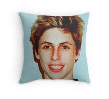 Lucas Vercetti Pullover- Multi Color Throw Pillow