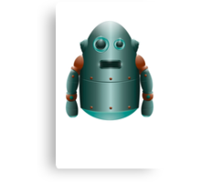 The Lonely Space Robot Canvas Print
