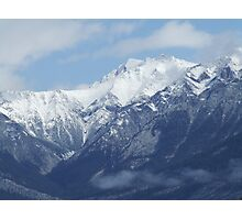 High in the Mountain Tops Photographic Print