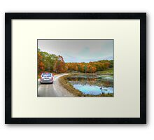 Road to the Wolves Framed Print