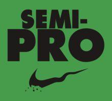 Semi-Pro - Nike Parody (Black) Baby Tee