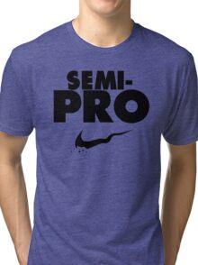 Semi-Pro - Nike Parody (Black) Tri-blend T-Shirt