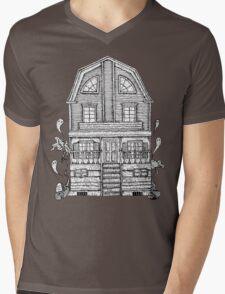 Amityville Mens V-Neck T-Shirt
