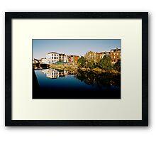Cork Reflection Framed Print