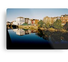 Cork Reflection Metal Print