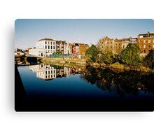 Cork Reflection Canvas Print