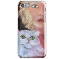 the perfect cat iPhone Case/Skin