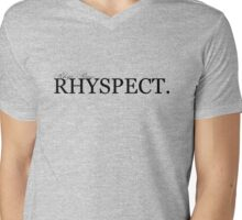 rhyspect. Mens V-Neck T-Shirt