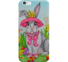 The Easter Bunny iPhone Case/Skin