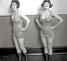 Chorus Girls, 1920 by historyphoto