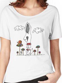 Sliced Rabbit Women's Relaxed Fit T-Shirt