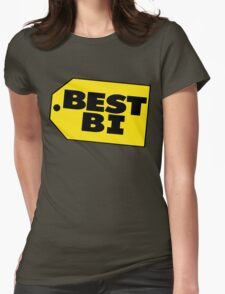 Best Bi - Parody Womens Fitted T-Shirt