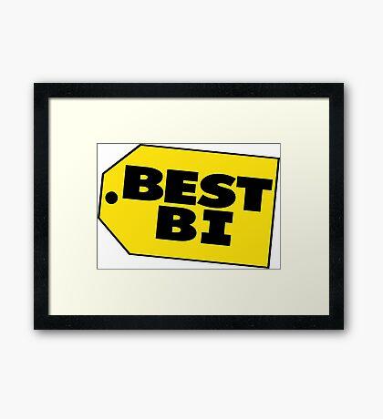 Best Bi - Parody Framed Print