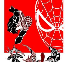 Spiderman Inspired Design  by PMckennaDesigns