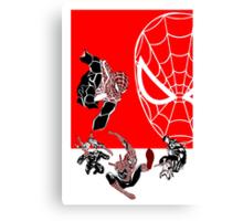 Spiderman Inspired Design  Canvas Print