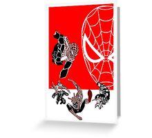 Spiderman Inspired Design  Greeting Card