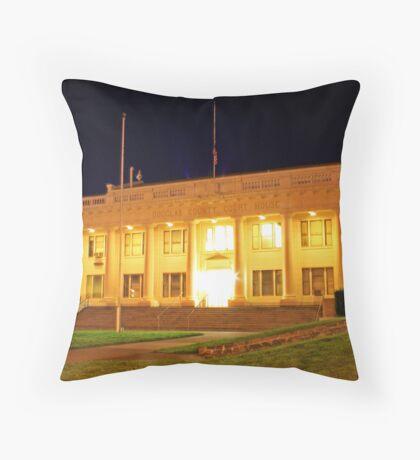 Douglas County Courthouse Throw Pillow