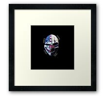 payday masks Framed Print